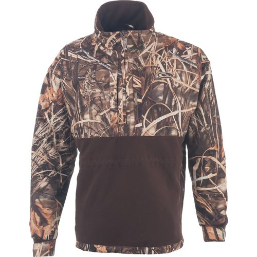 Drake Men's MST Fleece Lined Realtree MAX-4™ Camo Pullover
