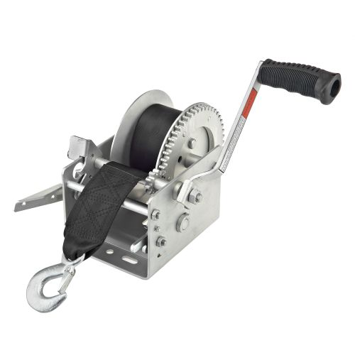 Display product reviews for Marine Raider 2,500 lb. Trailer Winch with Brake