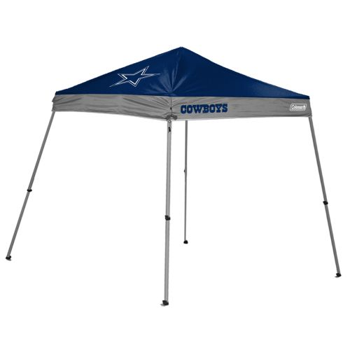 K2 Licensed Products Dallas Cowboys 10' x 10' Slant Leg Canopy