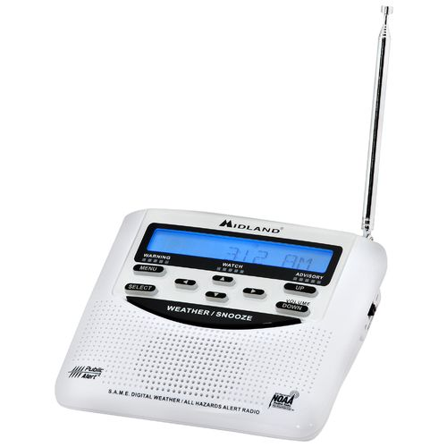 Midland WR120 All Hazards Weather Alert Radio
