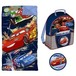Disney Kids' Cars 2 Backpack and Sleeping Bag Combo