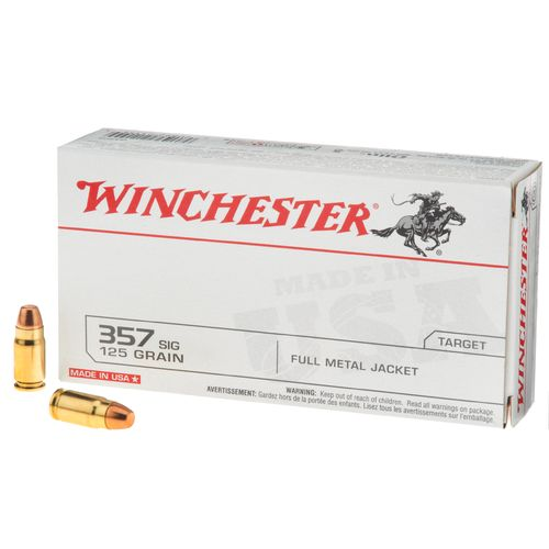 Display product reviews for Winchester .357 Sig 125-Grain Centerfire Handgun Ammunition