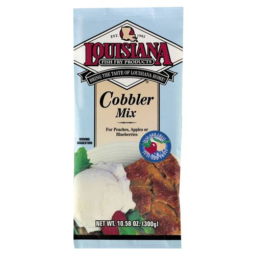 Display product reviews for Louisiana Fish Fry Products 10.58 oz. Cobbler Mix