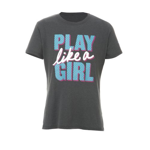 Under Armour® Girls' Play Like a Girl Graphic T-shirt