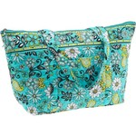 A. D. Sutton Floral Quilted Cotton Tote Bag