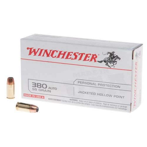 Winchester .380 Auto USA 95-Grain Ammunition - view number 1