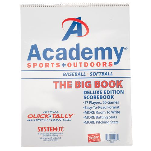 Display product reviews for Academy System-17 Deluxe Baseball/Softball Scorebook