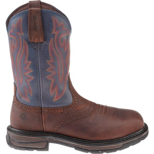 Wolverine Men's Javelina High Plains Western Wellington Steel Toe Boots
