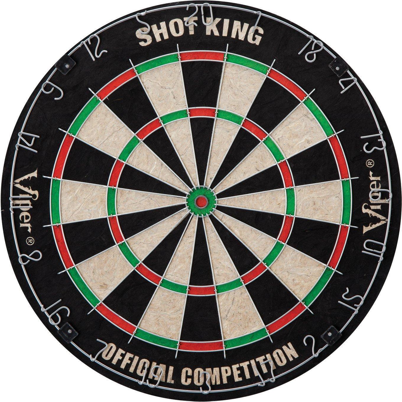 Display product reviews for GLD Shot King Bristle Dartboard