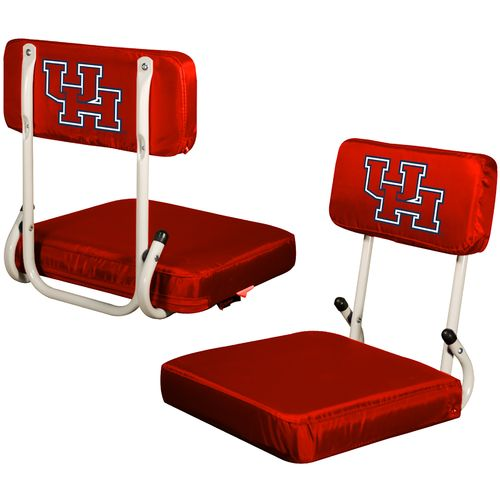 Logo™ University of Houston Hard Back Stadium Seat