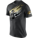 Nike Men's University of Missouri Helmet Cotton T-shirt