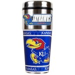 Great American Products University of Kansas 16 oz. Travel Tumbler