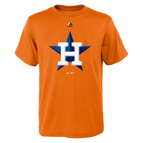 Majestic Kids' Houston Astros Logo Shirt