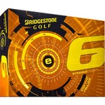 Bridgestone Golf E Series Optic Yellow 2015 E6 Golf Balls 12-Pack