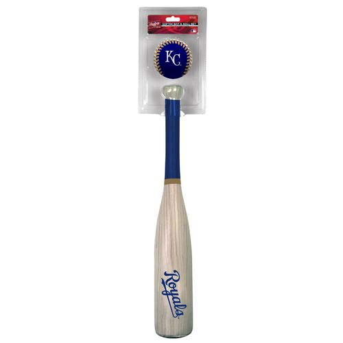 Rawlings Kids' Kansas City Royals MLB Grand Slam Bat and Ball Set - view number 1