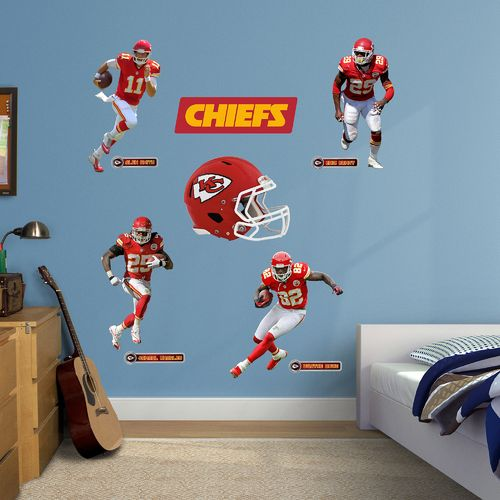 Fathead Kansas City Chiefs Decals Power Pack