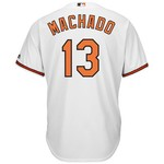 Majestic Men's Baltimore Orioles Manny Machado #13 Cool Base® Replica Jersey - view number 1