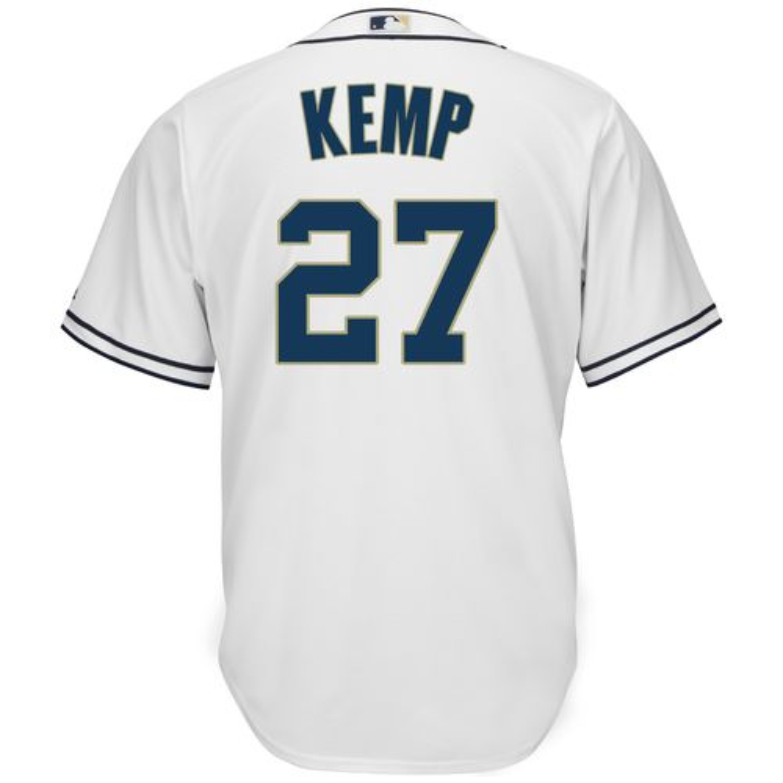 Majestic Men's San Diego Padres Matt Kemp #27