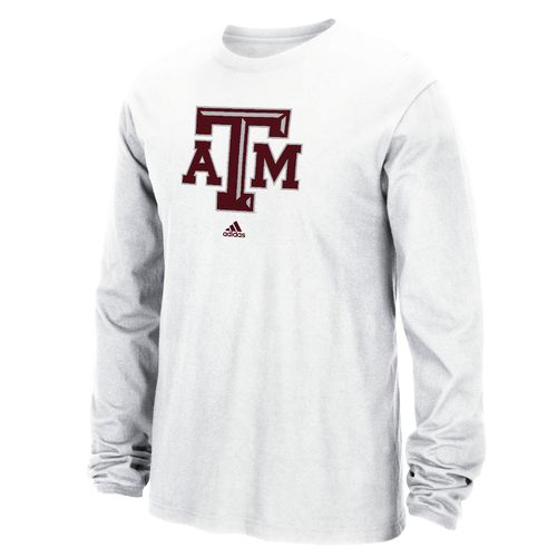 adidas™ Men's Texas A&M University School Logo T-shirt
