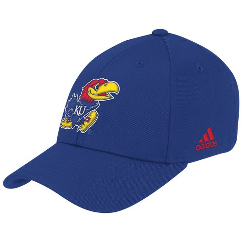 adidas™ Men's University of Kansas Wool No Fear Shape Cap