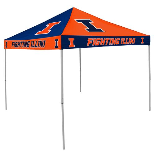 Logo™ University of Illinois Straight-Leg 9' x 9' Checkerboard Tent