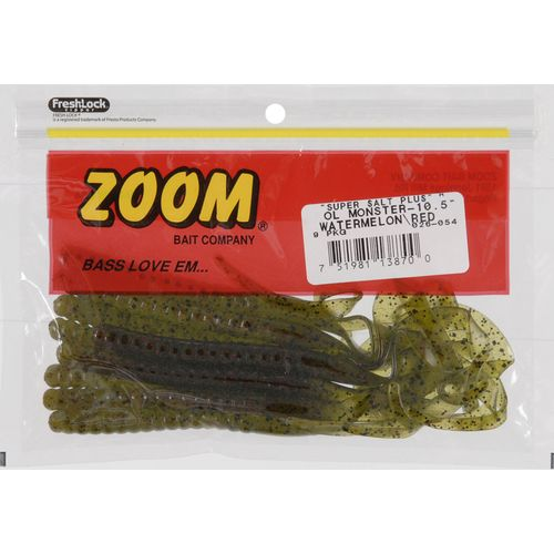 Zoom Ol' Monster 10-1/2' Worm Baits 9-Pack