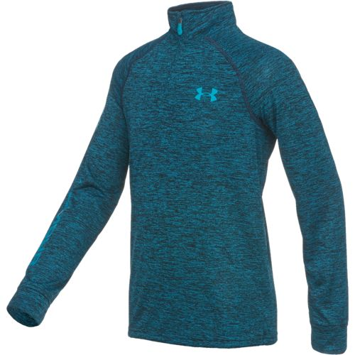 Under Armour® Boys' UA Tech 1/4 Zip T-shirt