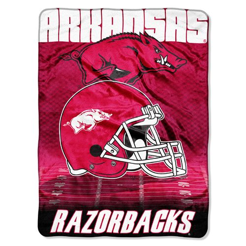 The Northwest Company University of Arkansas Overtime Micro Raschel Throw - view number 1