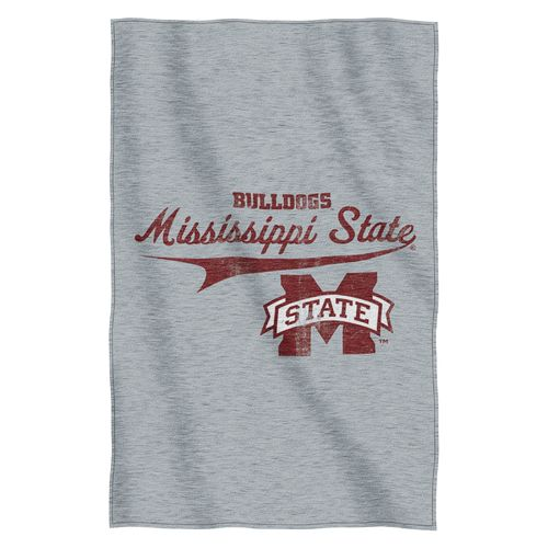 The Northwest Company Mississippi State University Sweatshirt Throw