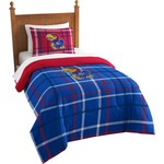 The Northwest Company University of Kansas Twin Comforter and Sham Set