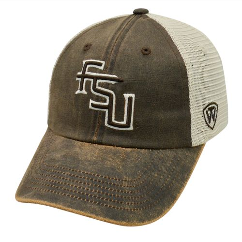 Top of the World Adults' Florida State University ScatMesh Cap
