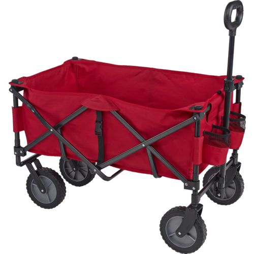Academy Sports + Outdoors Folding Sport Wagon With Removable Bed   View  Number 1 ...