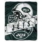 The Northwest Company New York Jets Grandstand Raschel Throw