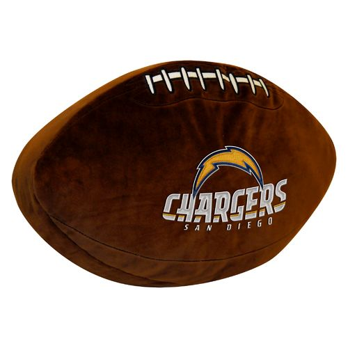 The Northwest Company San Diego Chargers Football Shaped Plush Pillow - view number 1