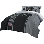 The Northwest Company Oakland Raiders Full-Size Comforter and Sham Set