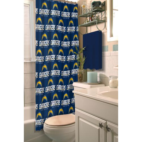 The Northwest Company San Diego Chargers Shower Curtain - view number 1