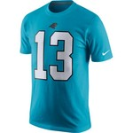 Nike Men's Carolina Panthers Kelvin Benjamin 13 Player Pride T-shirt - view number 2