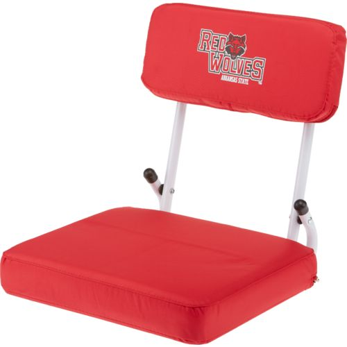 Logo™ Arkansas State University Hard Back Stadium Seat