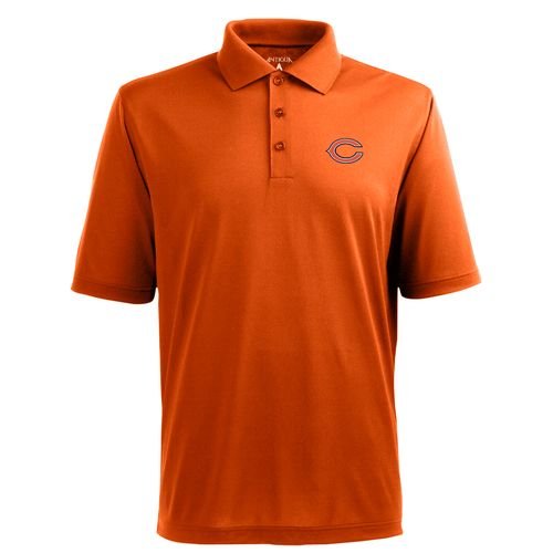 Antigua Men's Chicago Bears Piqué Xtra-Lite Polo Shirt - view number 1