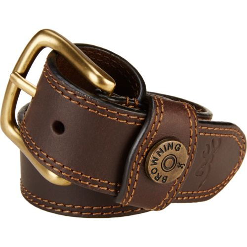 Display product reviews for Browning Men's Leather Slug Belt