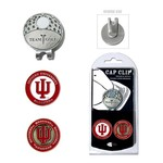 Team Golf Indiana University Cap Clip and Ball Marker Set - view number 1