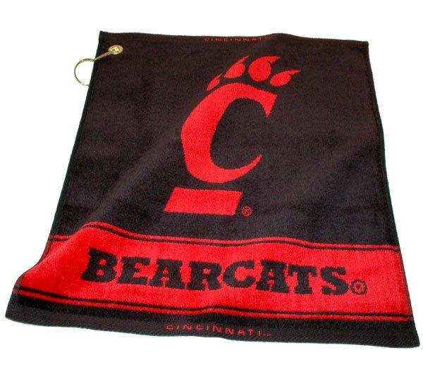 Team Golf University of Cincinnati Woven Towel