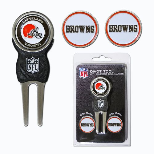 Team Golf Cleveland Browns Divot Tool and Ball Marker Set - view number 1