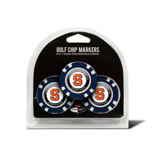 Team Golf Syracuse University Poker Chip and Golf Ball Marker Set