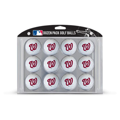 Team Golf Washington Nationals Golf Balls 12-Pack - view number 1