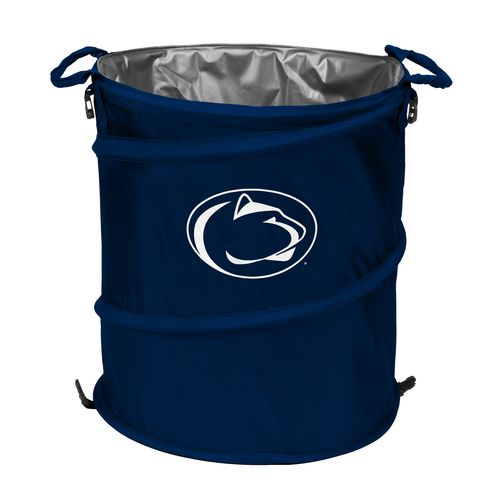 Logo™ Penn State University Collapsible 3-in-1 Cooler/Hamper/Wastebasket - view number 1