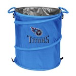 Logo Tennessee Titans Collapsible 3-in-1 Cooler/Hamper/Wastebasket