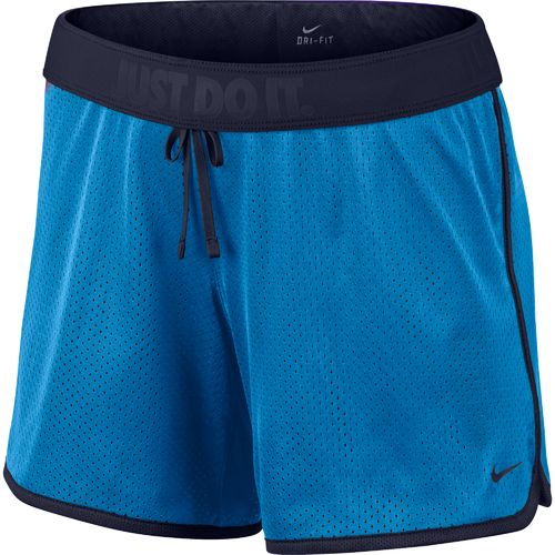Display product reviews for Nike Women's Drill Mesh Short