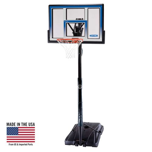 Lifetime Courtside 48' Polycarbonate Portable Basketball Hoop