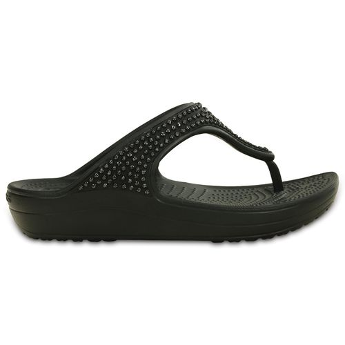 Crocs™ Women's Sloane Diamante Flip-Flops